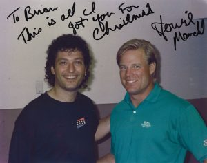 Brian Propp and Howie Mandel